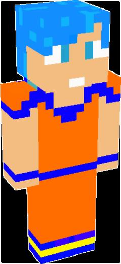 Goku 4 | Minecraft Skins | Tynker