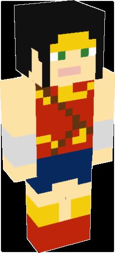 Wonder Woman Minecraft Skins Tynker - Skins para minecraft orochimaru