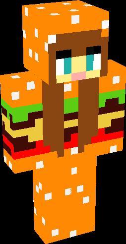 Ayla (Burger Onesie) | Minecraft Skins | Tynker
