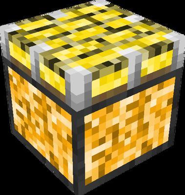 gold piston   Minecraft Blocks   Tynker