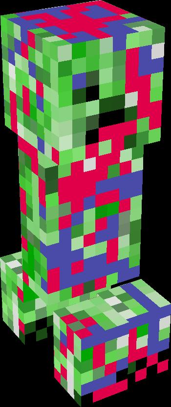 drowned creeper | Minecraft Mobs | Tynker