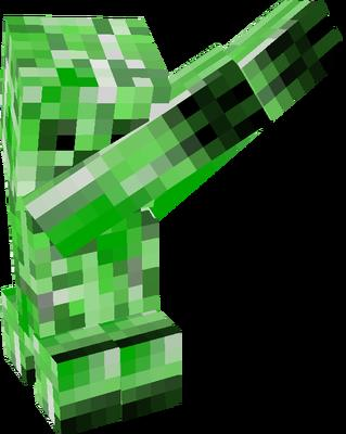 Dab Creeper Minecraft Mobs Tynker