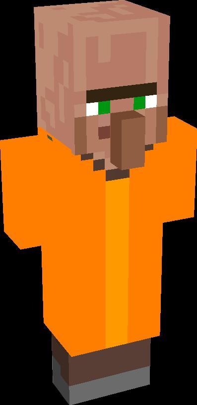prisoner villager | Minecraft addons | Tynker