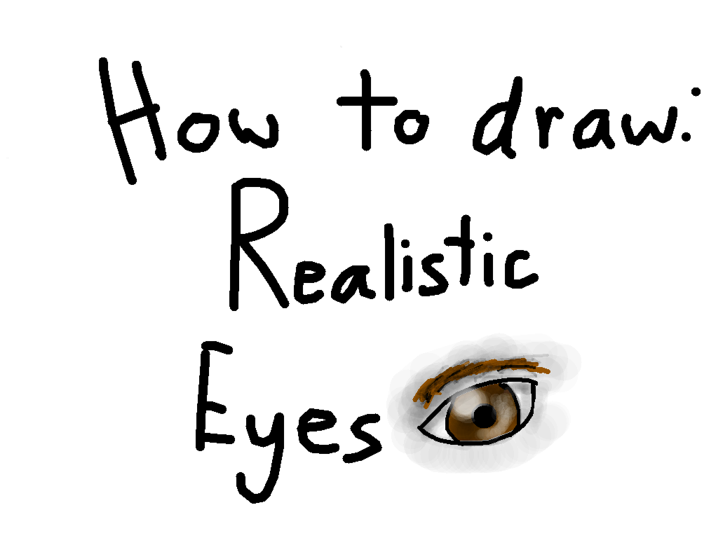 How to Draw: Realistic Eye