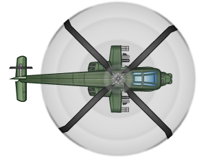 Enemy Helicopter - helicopter 1