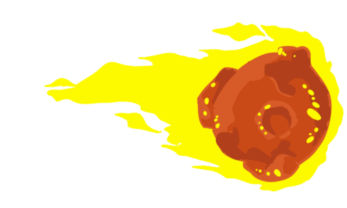 fireball - flaming comet 2