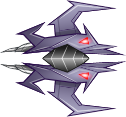 Enemy Space Ship - bad guy ship A