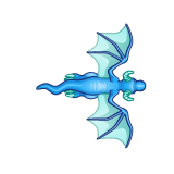 Dragon - Blue_Flying03