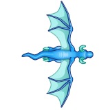 Dragon - Blue_Flying09