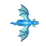 Dragon - Blue_Flying10
