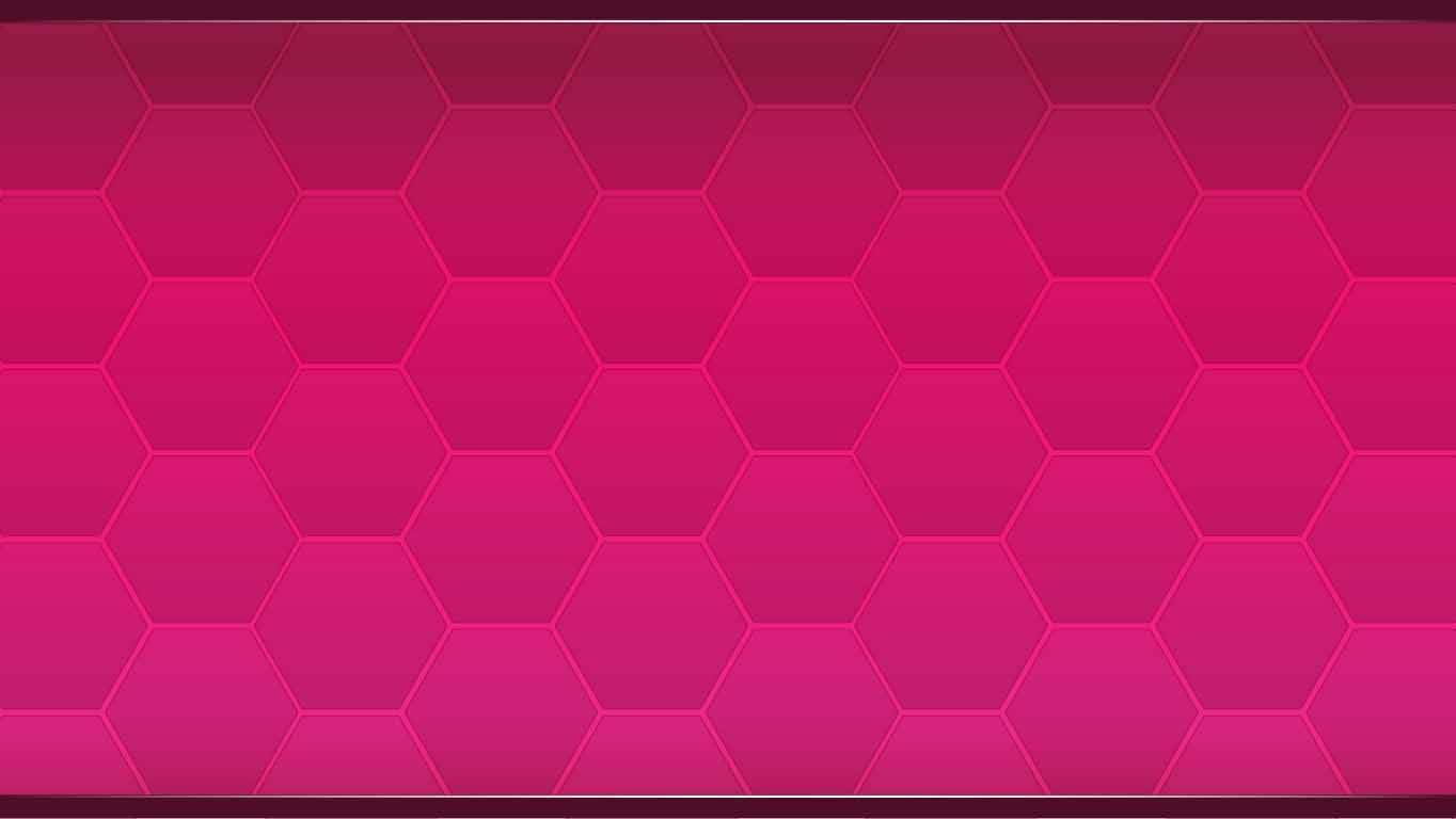 background scene - Red Hexagons
