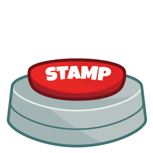 stamp - stamp down