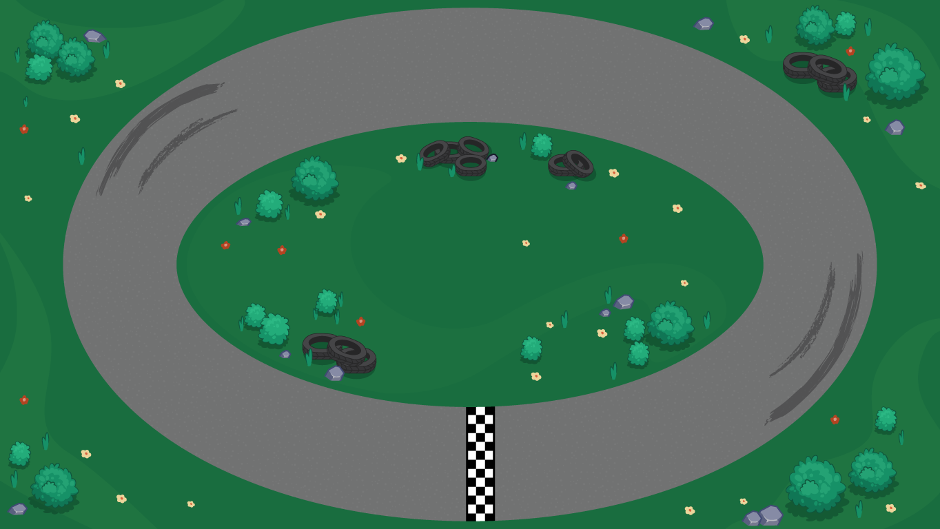 background scene - race track1