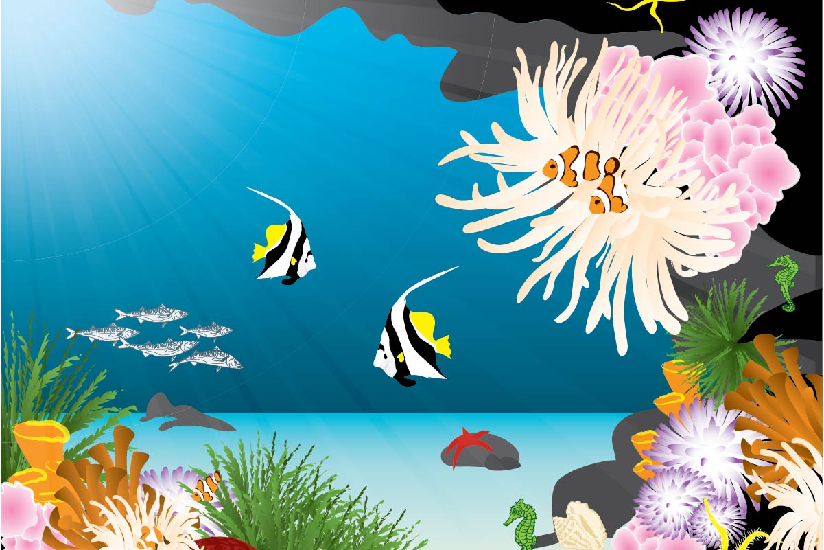 background scene - Coral Reef 2