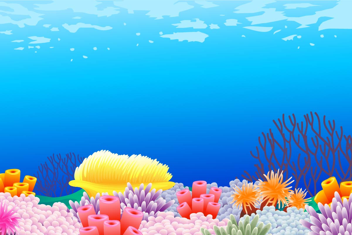 background scene - Coral Reef