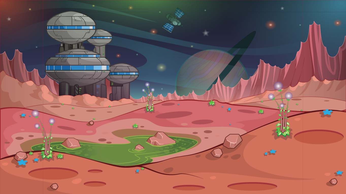 background scene - SciFi_landscape