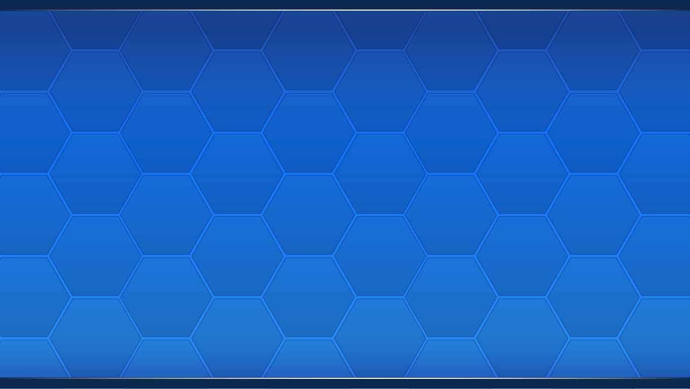 background scene - Blue Hexagons