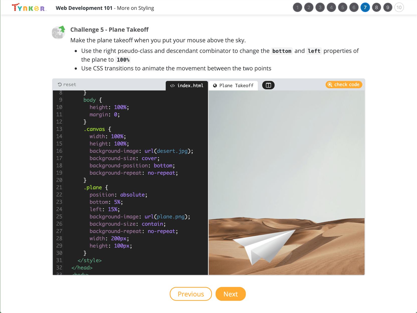 Web Development 101 | School Coding Course | Tynker