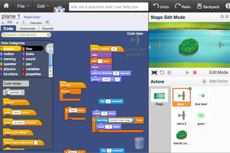 Game Design 202 | Camp & After-School Courses | Tynker
