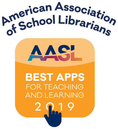 American Association of School Librarians: Best Apps for Teaching and Learning 2019