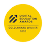 Digital Education Awards 2020 Gold Award Winner