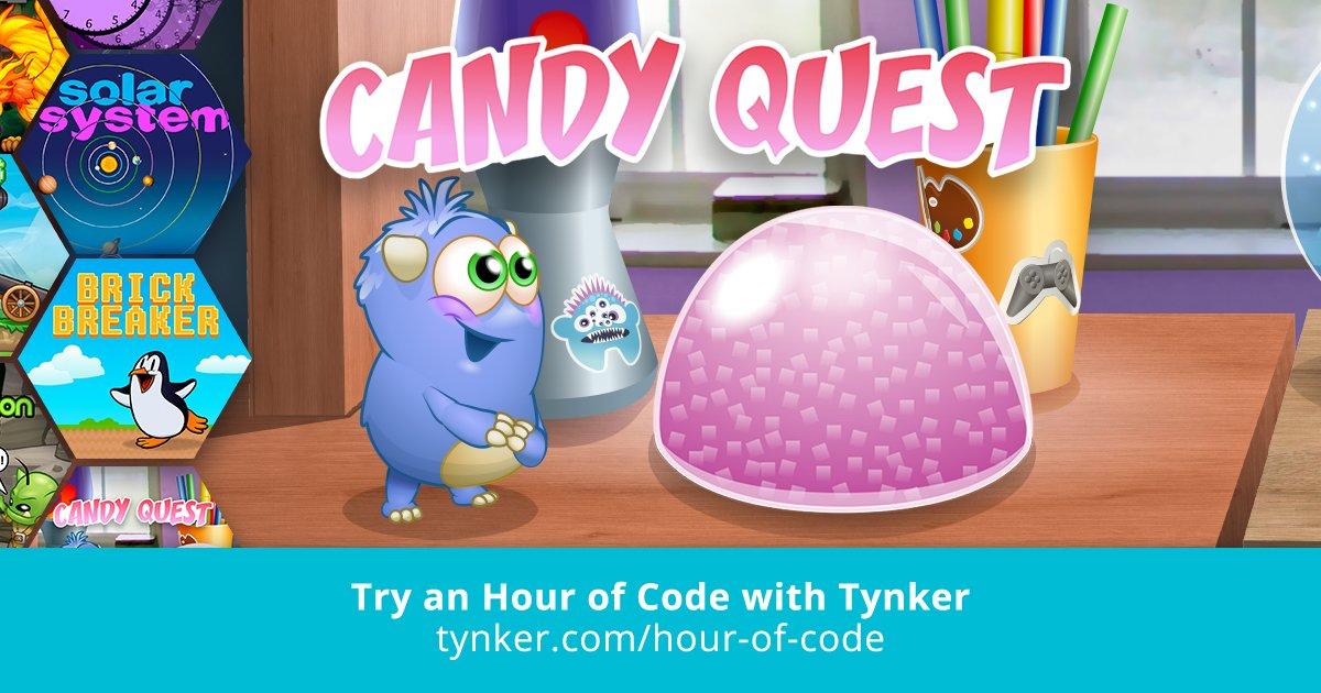 Candy Quest | Hour of Code | Tynker