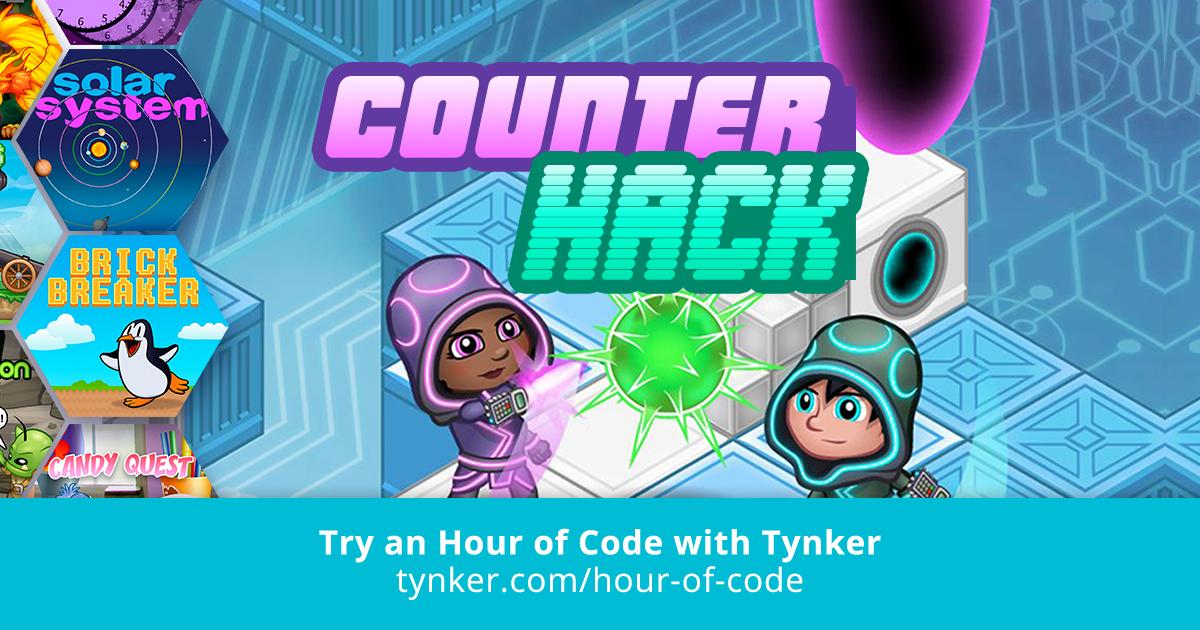 JavaScript | Counter Hack | Hour of Code | Tynker