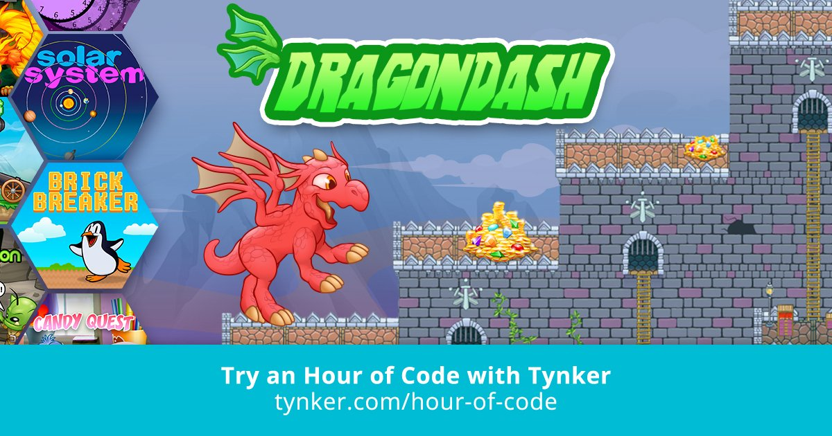 Dragon Dash | Hour of Code | Tynker