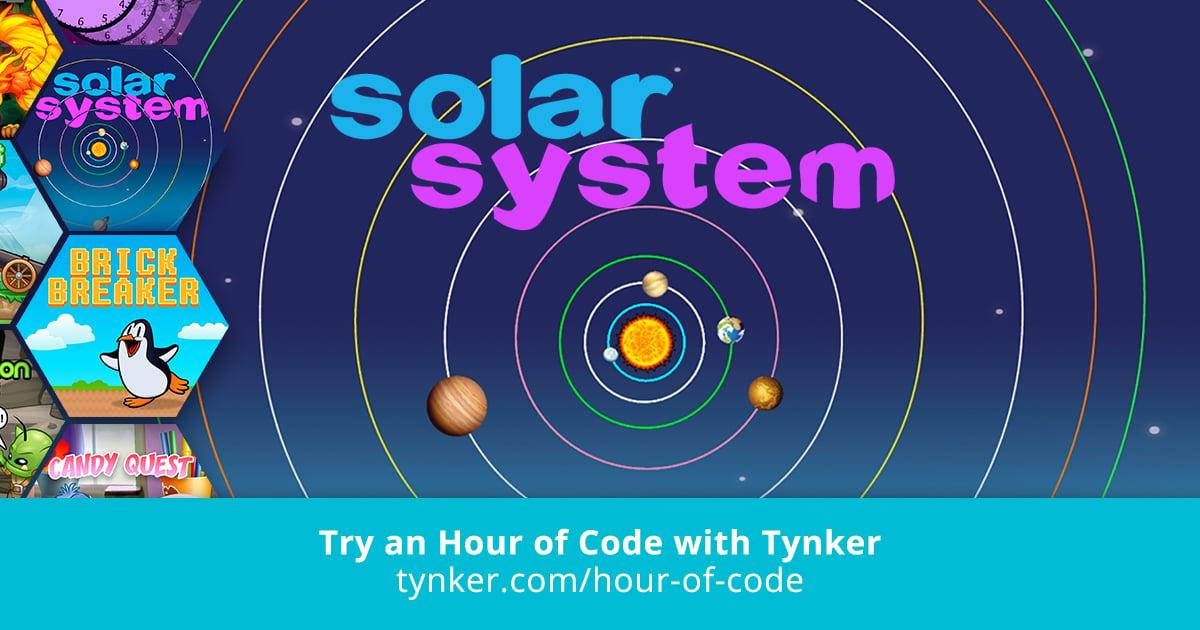 STEM | Solar System | Hour of Code | Tynker