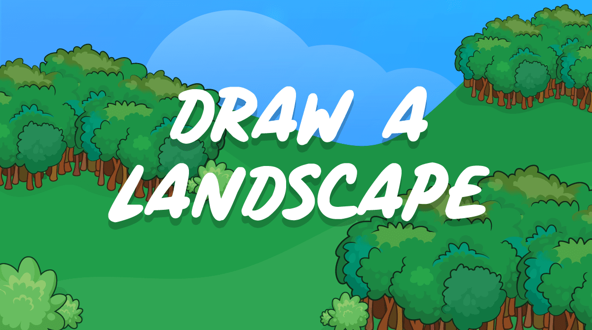 Draw a Landscape | Hour of Code | Tynker