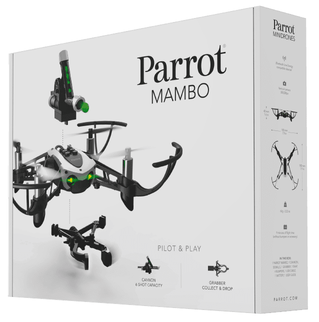 Parrot Mambo Code Includes