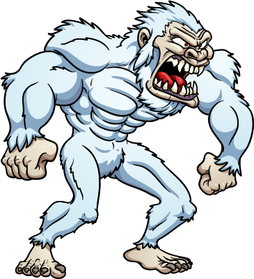 actor1 - angry yeti