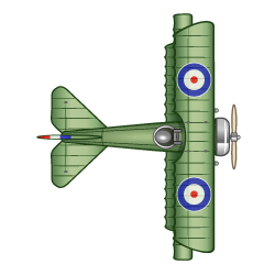 drawing61 - WW1 Plane 1
