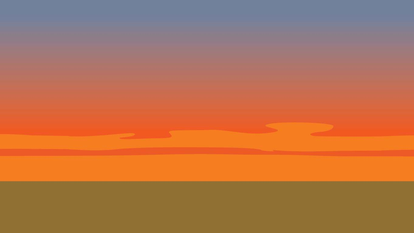 background scene - Sunset Horizon