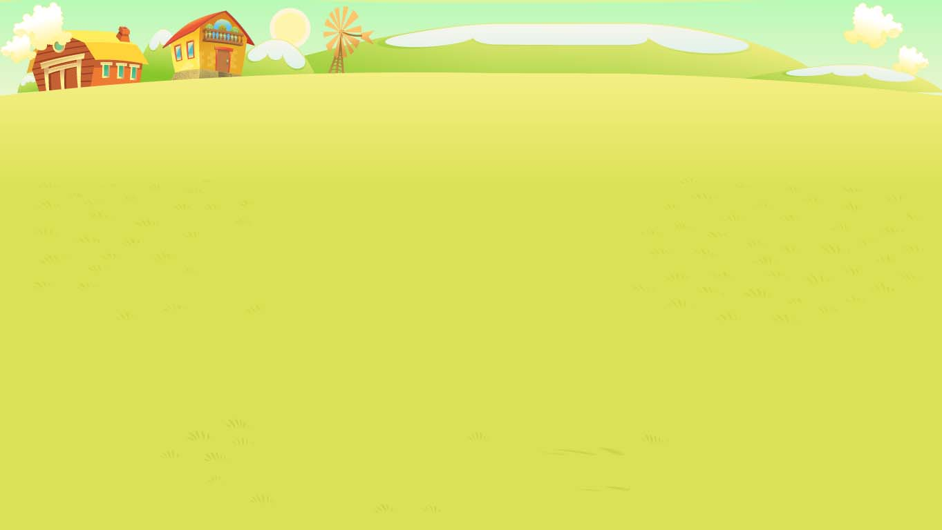 background scene - Farm Landscape