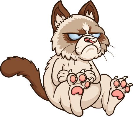 drawing3111111 - grumpy cat