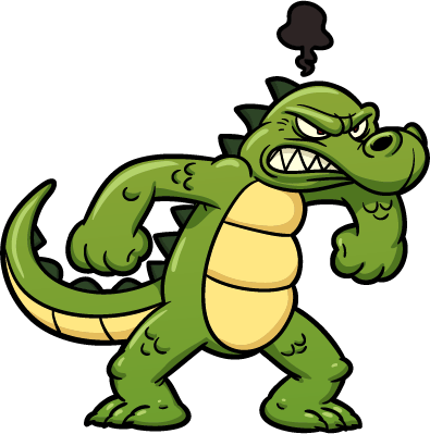 crocodile1 - cartoon crocodiles 2