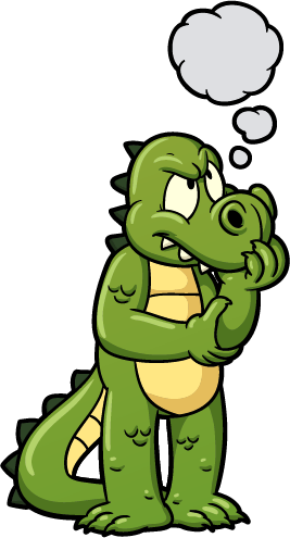 crocodile - cartoon crocodiles 8