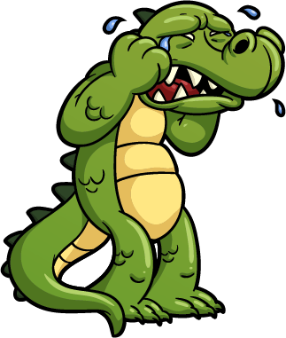 crocodile - cartoon crocodiles 9