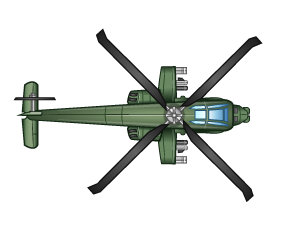 Monkey - helicopter
