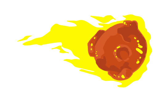 fireball - flaming comet 3