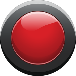 down - red button on