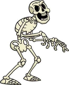 Shocked Skeleton - Skeleton 1