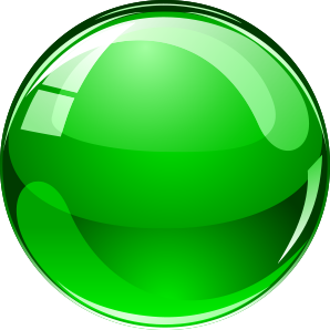 orange ball1 - green ball
