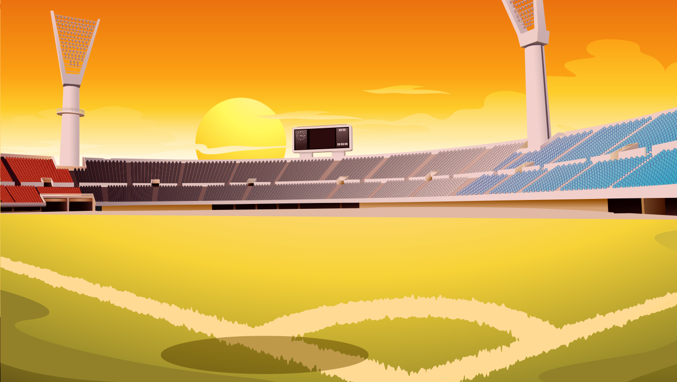 background scene - baseball field 2