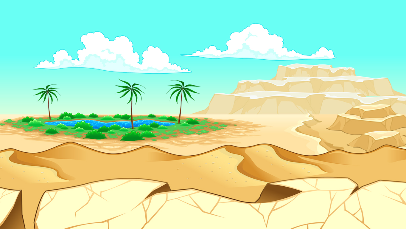 background scene - desert