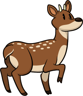crocodile - deer