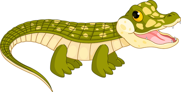 host - crocodile