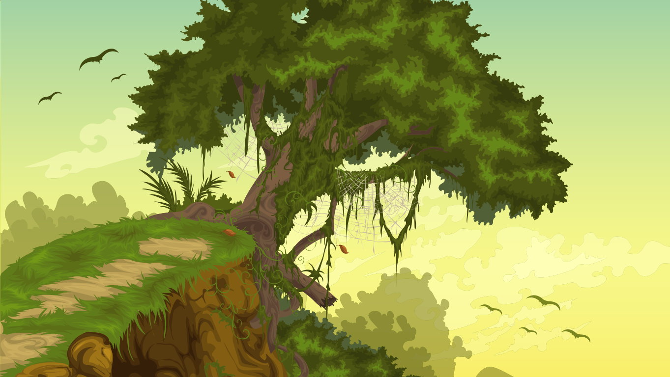 background scene - jungle