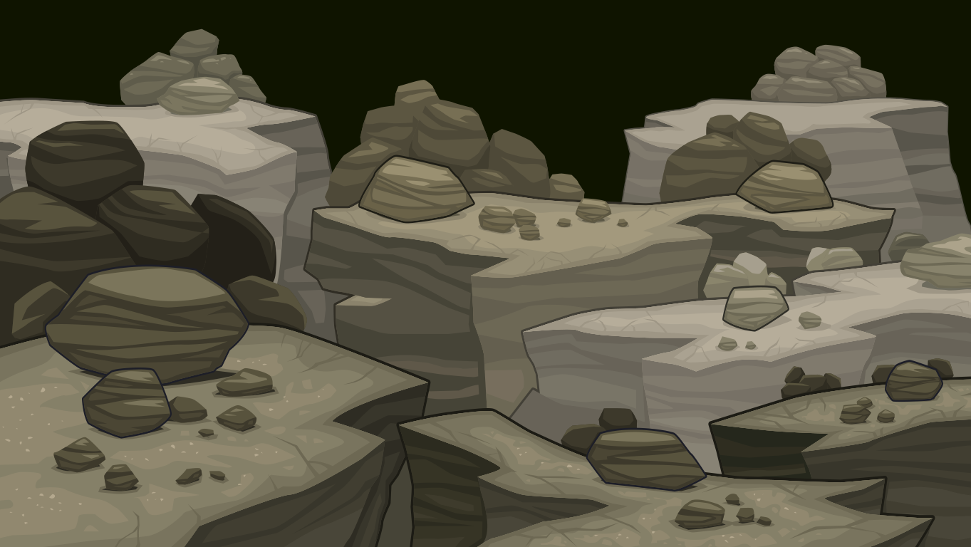 background scene - cave